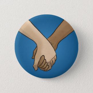Badge Rond 5 Cm Je tiens votre main par le @PixelatedPixie