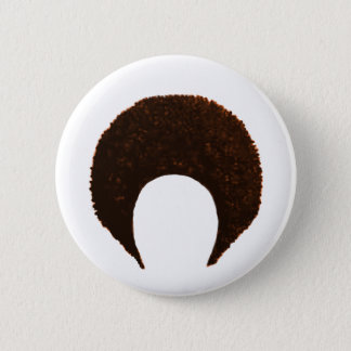 Badge Rond 5 Cm jGibney orange d'Afro les cadeaux de Zazzle de