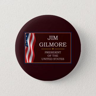 Badge Rond 5 Cm JIM Gilmore pour le Président V3