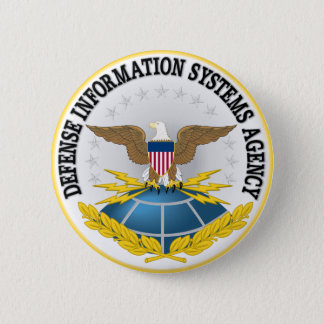 Badge Rond 5 Cm Joint de Defense Information Systems Agency