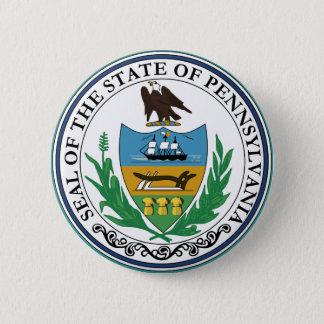 Badge Rond 5 Cm Joint d'état de la Pennsylvanie