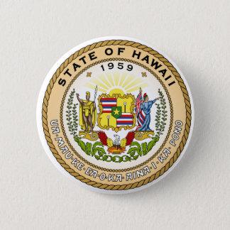 Badge Rond 5 Cm Joint d'état d'Hawaï