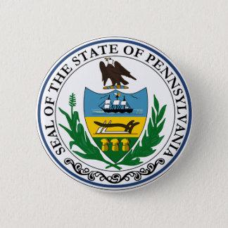 Badge Rond 5 Cm Joint officiel d'état de la Pennsylvanie