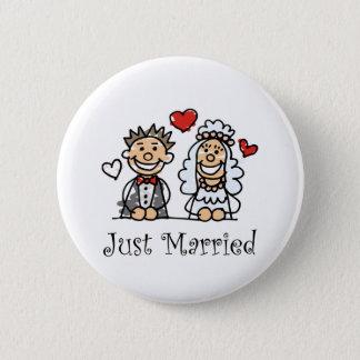Badge Rond 5 Cm Juste bouton marié