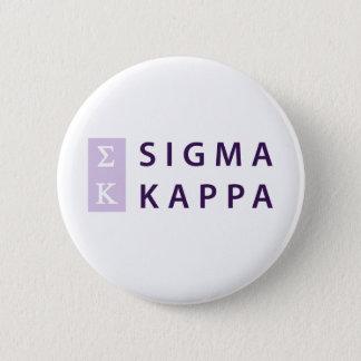 Badge Rond 5 Cm Kappa de sigma empilé