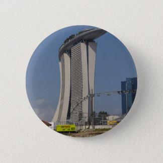 Badge Rond 5 Cm La baie de marina ponce l'hôtel et le matériel