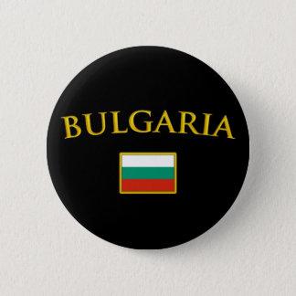 Badge Rond 5 Cm La Bulgarie d'or