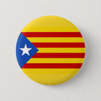 Badge Rond 5 Cm La Catalogne