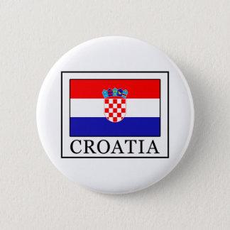 Badge Rond 5 Cm La Croatie