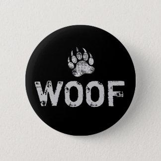 Badge Rond 5 Cm La fierté gaie d'ours a affligé la patte d'ours