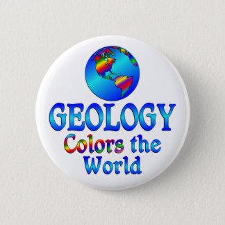 Badge Rond 5 Cm La géologie colore le monde