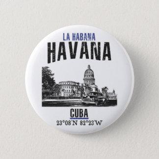 Badge Rond 5 Cm La Havane