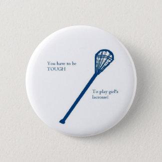 Badge Rond 5 Cm La lacrosse des filles