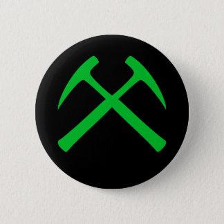 Badge Rond 5 Cm La roche croisée martèle le bouton