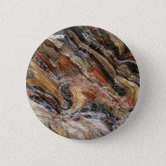 Badge Rond 5 Cm La roche tourbillonne en nature
