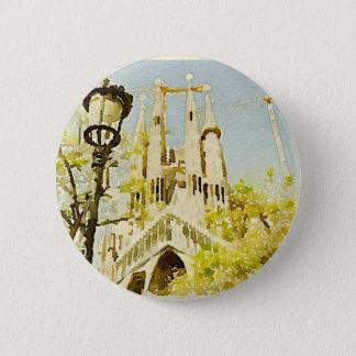 Badge Rond 5 Cm La Sagrada Familia