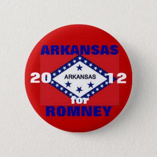 Badge Rond 5 Cm L'Arkansas pour Romney 2012