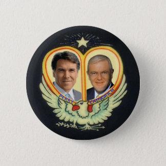 Badge Rond 5 Cm Le billet rêveur de Rick Perry