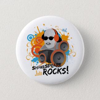 """Badge Rond 5 Cm Le cadeau drôle """"Shakespeare de slogan de"""