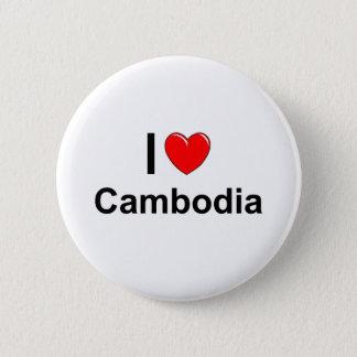 Badge Rond 5 Cm Le Cambodge
