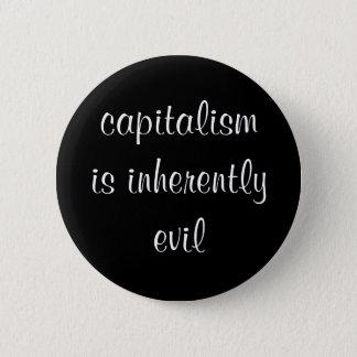 Badge Rond 5 Cm Le capitalisme est bouton en soi mauvais