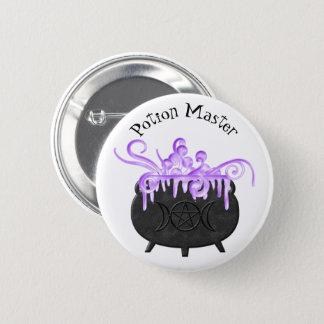 Badge Rond 5 Cm Le chaudron bouillonne païen Magick de Brew de