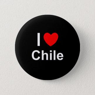Badge Rond 5 Cm Le Chili