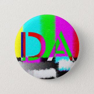 Badge Rond 5 Cm Le DA colorent le bouton de charge statique de