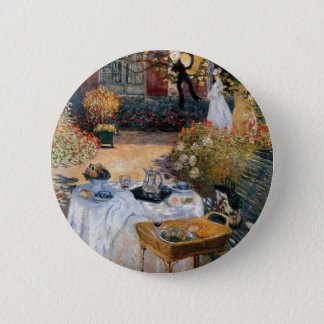 Badge Rond 5 Cm Le déjeuner par Claude Monet