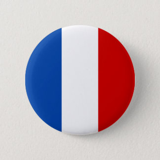 Badge Rond 5 Cm Le drapeau de la France