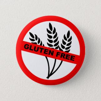 Badge Rond 5 Cm Le gluten libèrent