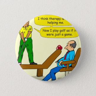 Badge Rond 5 Cm le golf 947 est juste un jeu de jeu