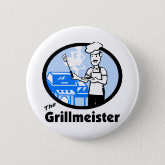 Badge Rond 5 Cm Le Grillmeister