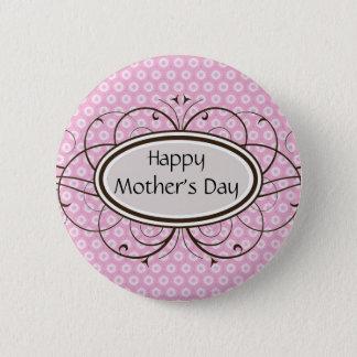 Badge Rond 5 Cm Le jour de mère heureux
