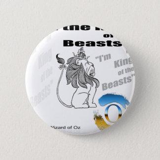 Badge Rond 5 Cm Le magicien d'Oz - illustration