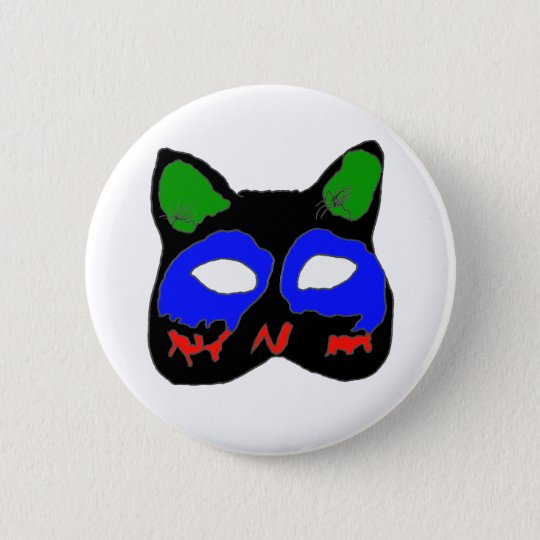 Badge Rond 5 Cm LE MASQUE CHAT1.png