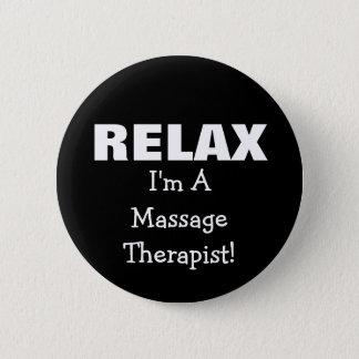 Badge Rond 5 Cm Le massage détendent (personnalisable)