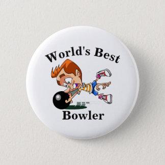 Badge Rond 5 Cm Le meilleur lanceur du monde