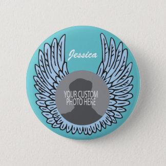 Badge Rond 5 Cm Le mémorial s'envole la photo de coutume de