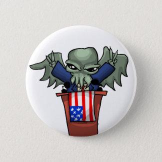 Badge Rond 5 Cm Le Président Cthulhu