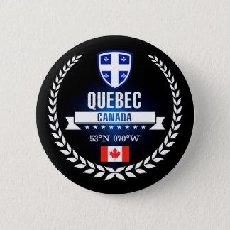 Badge Rond 5 Cm Le Québec