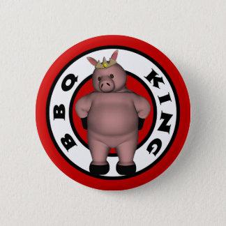 Badge Rond 5 Cm Le Roi Button de BBQ