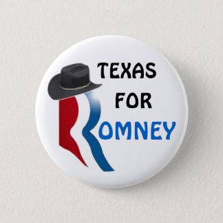 Badge Rond 5 Cm Le Texas pour Romney