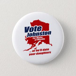 Badge Rond 5 Cm Le vote Lévi Johnston ou lui datera vos filles