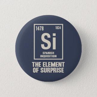 Badge Rond 5 Cm L'élément espagnol