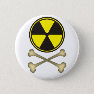 Badge Rond 5 Cm L'énergie nucléaire est dangereuse