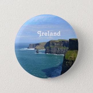 Badge Rond 5 Cm Les falaises de l'Irlande de Moher