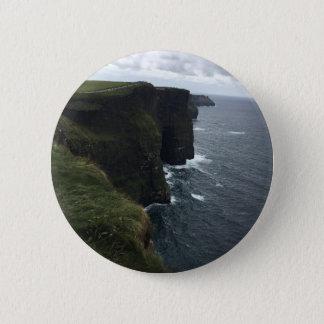 Badge Rond 5 Cm Les falaises de Moher