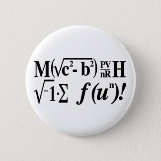 Badge Rond 5 Cm Les maths sont amusement !