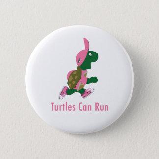 Badge Rond 5 Cm Les tortues peuvent fonctionner